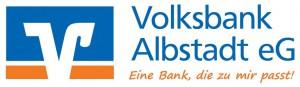 Sponsorenlogo Volksbank zweizeilig